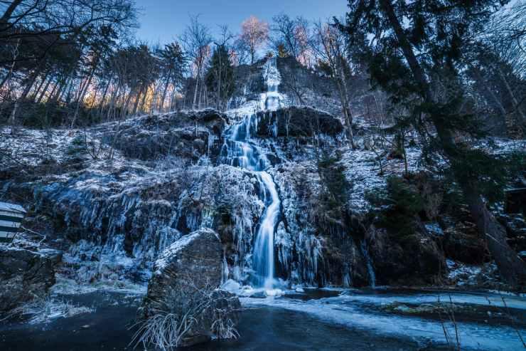 water falls view
